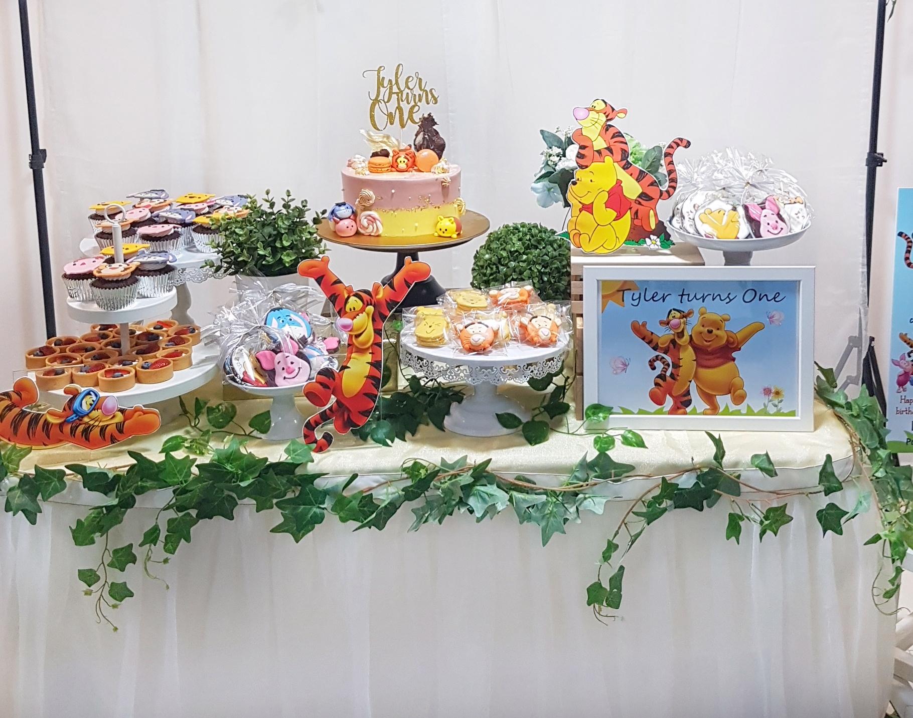 Tigger Dessert Table