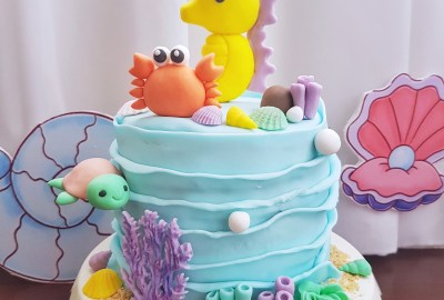Under The Sea Cake by The Baking Experiment