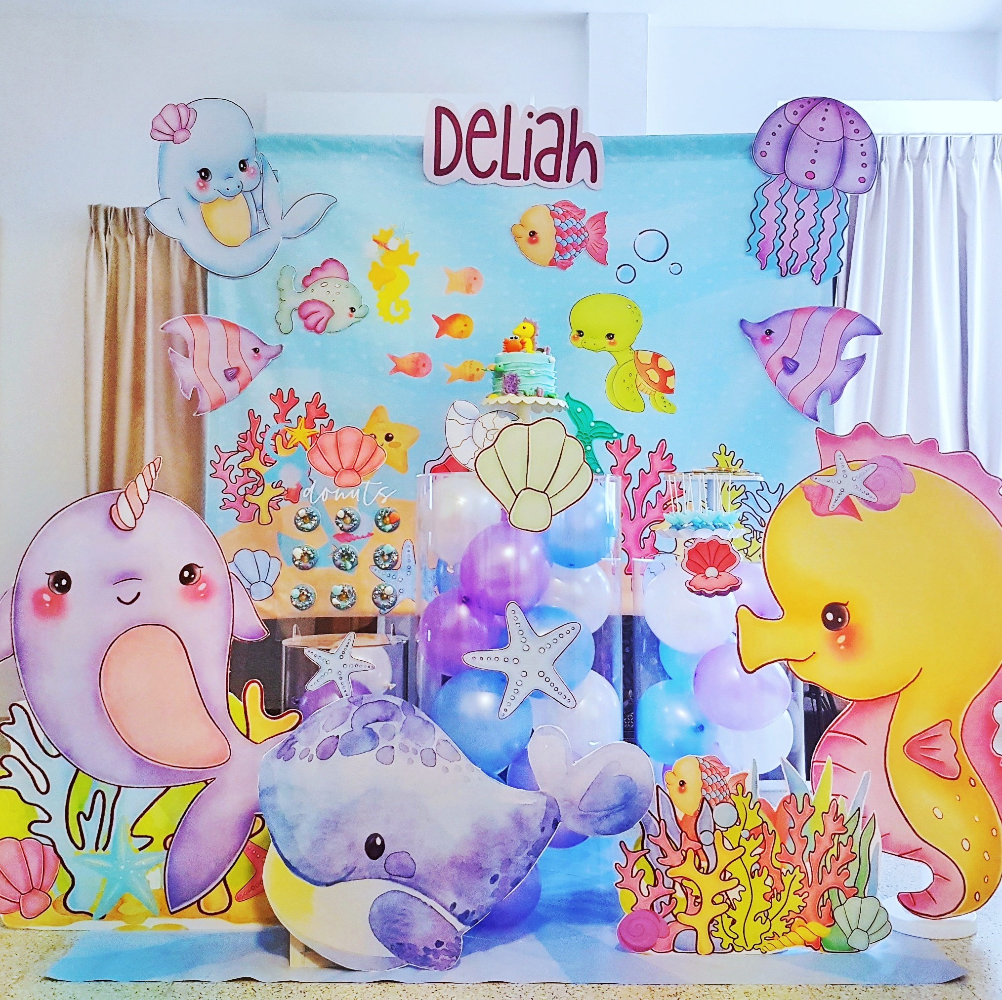 Under the Sea Dessert Table by The Baking Experiment