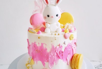 Bunny Cake by The Baking Experiment