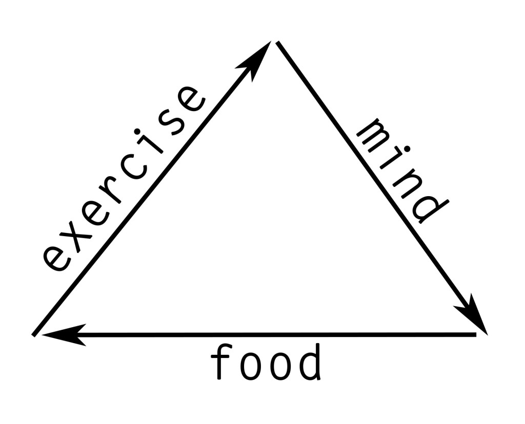 The Triangle Of Life Exercise Mind Food