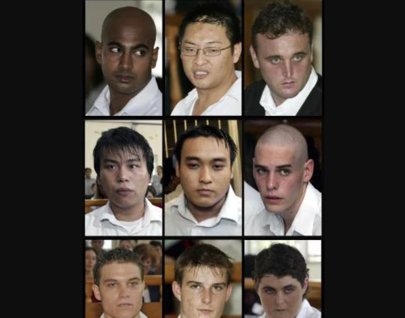 The Bali Nine were a group of nine Australians convicted for attempting to smuggle 8.3 kg (18 lb) of heroin out of Indonesia in April 2005