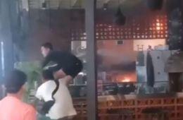 fire restaurant trans studio mall bali
