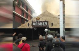Explosion And Fire Break Out At Kraken Steampunk Bar & Restaurant In Kuta