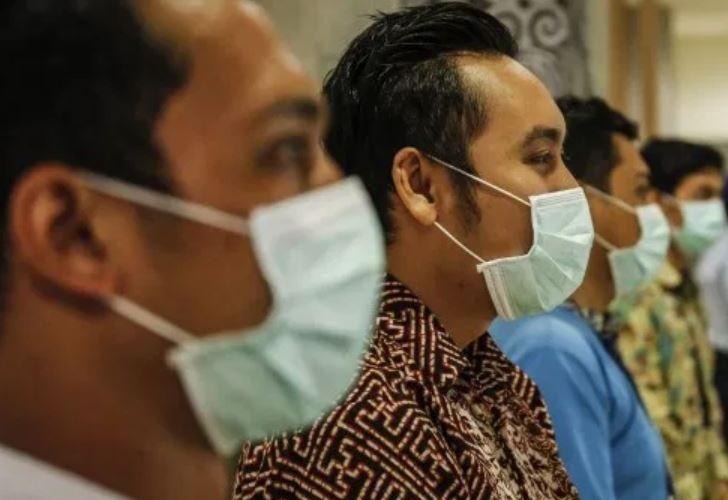 bali corona virus must wear masks