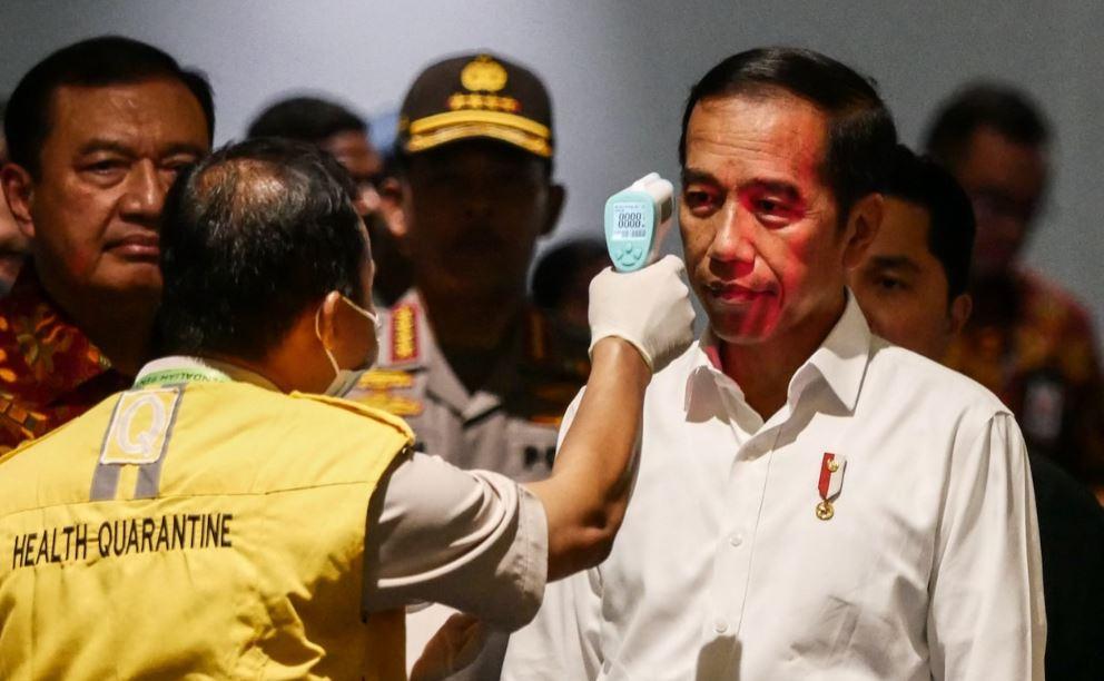 president hides coronavirus info in indonesia