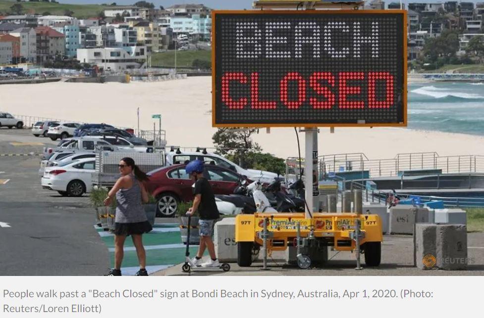 bondi beach closed