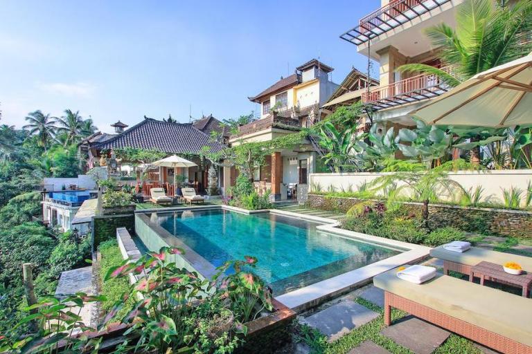 3-star hotel Tapa Nata Ubud in Bali is cheap