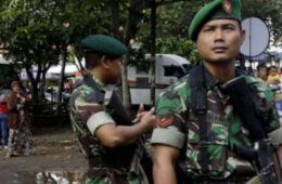 military-guard-Abuan-village-Bangli
