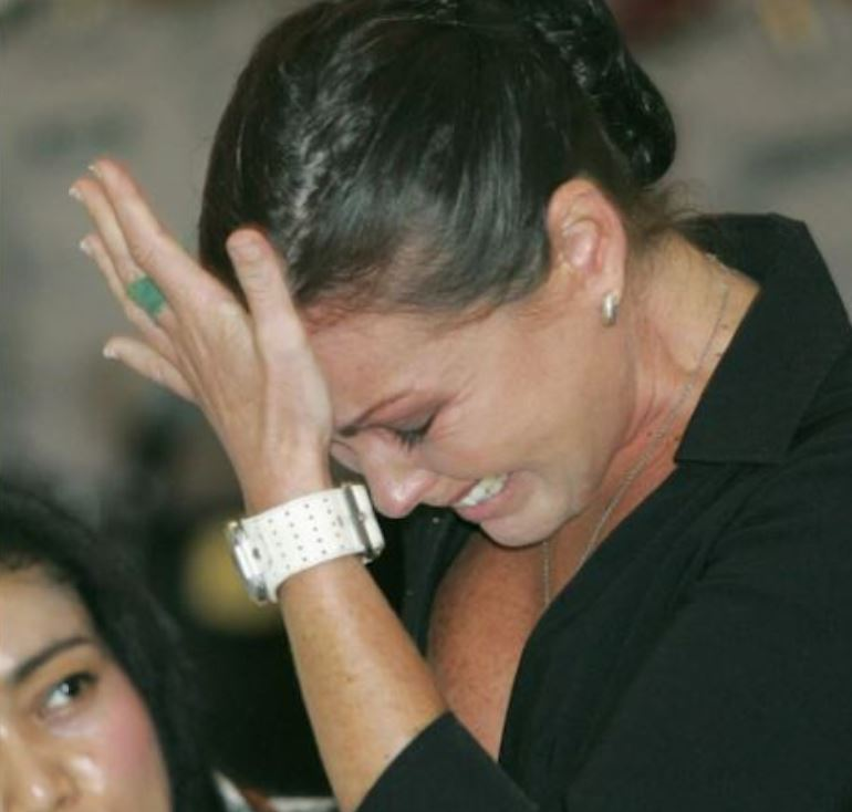 schapelle corby cries