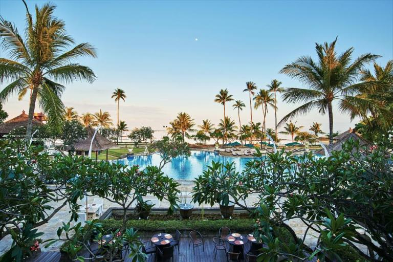 The patra is a cheap 5-star resort in bali