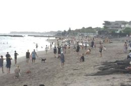 Closed Beach In Canggu Packed With People Defying Governors Orders