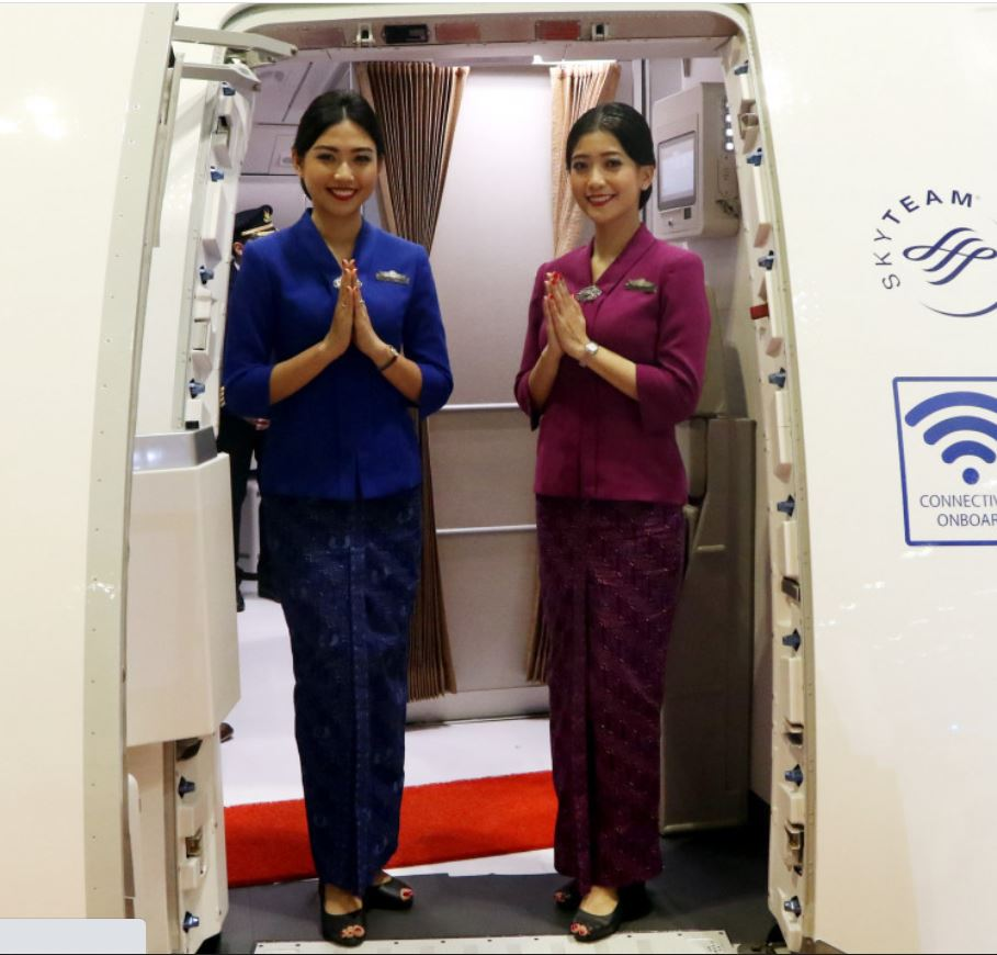Garuda flight attendants