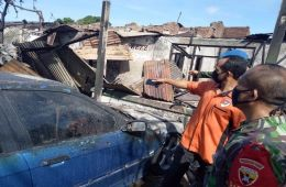 Large Fire Destroys Six Homes and Multiple Vehicles In Bali