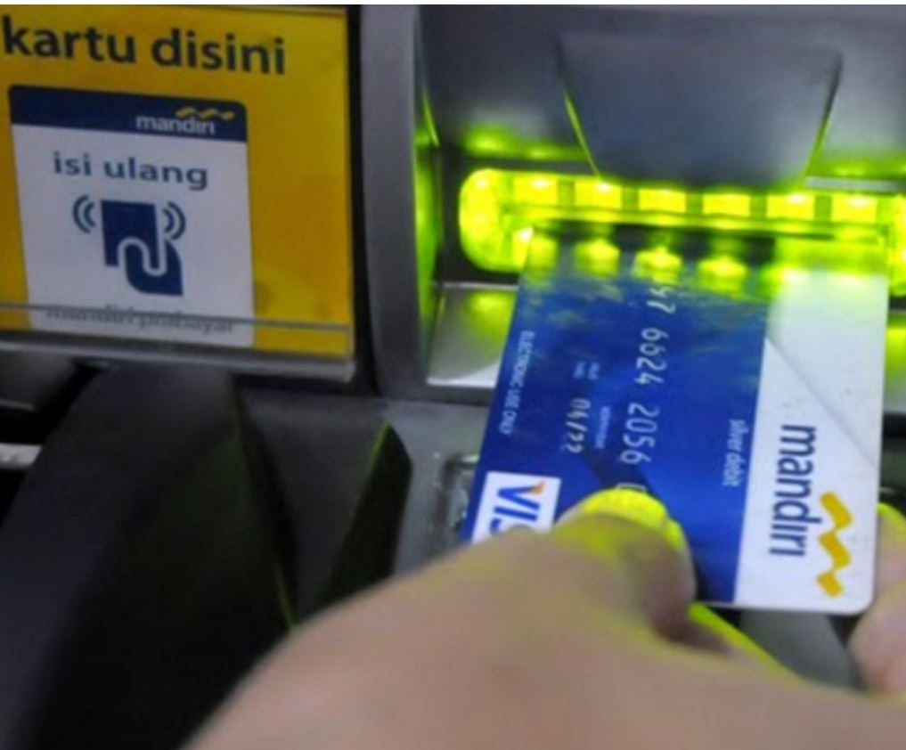 Mandiri bank machine
