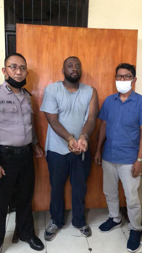 american arrest in bali