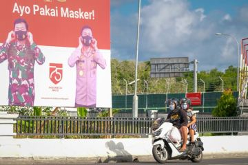Bali COVID-19 Task Force Says Cloth Masks Don't Protect Against Virus