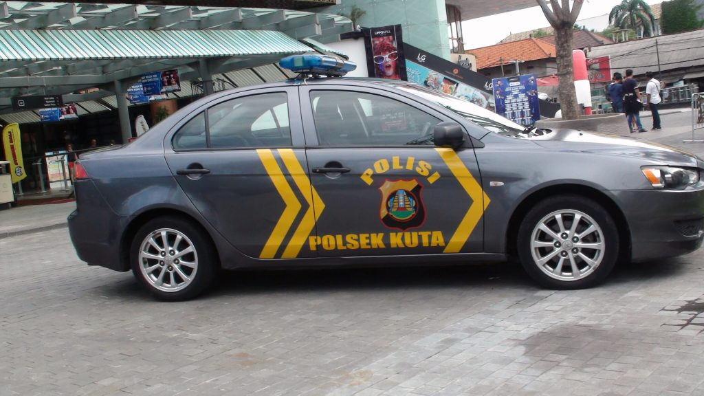 Bali Police Officer