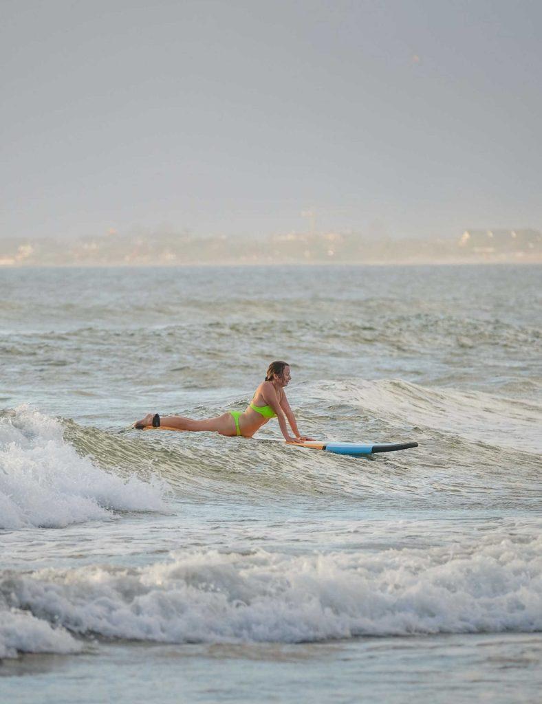 Bali Surfer tourist