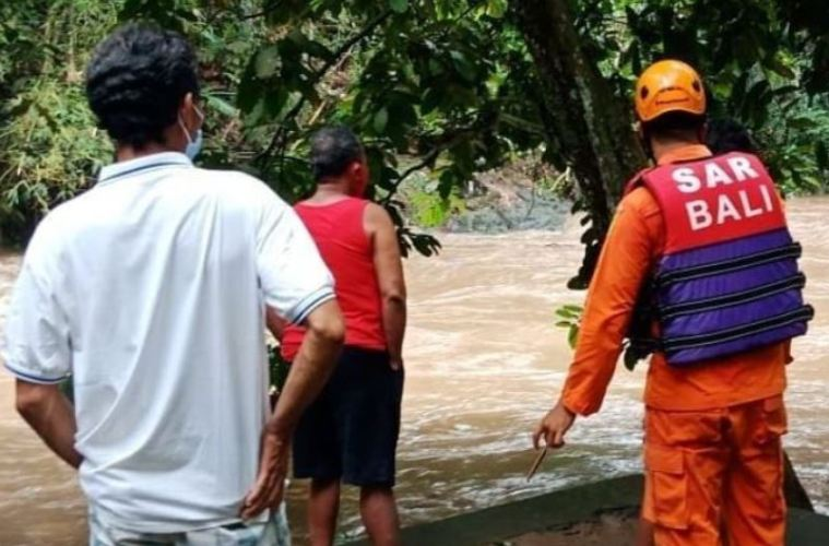 The Body of A Man Who Went Missing While Fishing Near Bali River Has Been Found