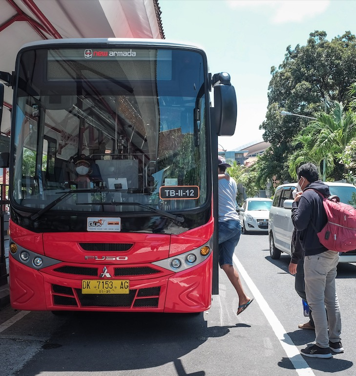 Trans Metro Dewata Bus Bali