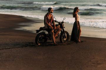 Video Of Russian Couple Plunging Into Sea On Motorbike In Bali Goes Viral