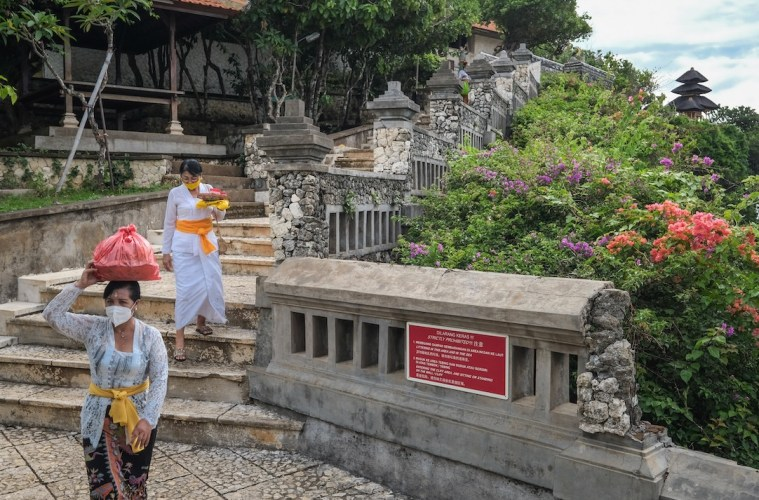 Tourism Minister Plans To Vaccinate 70% Of Bali Population Before Reopening International Borders