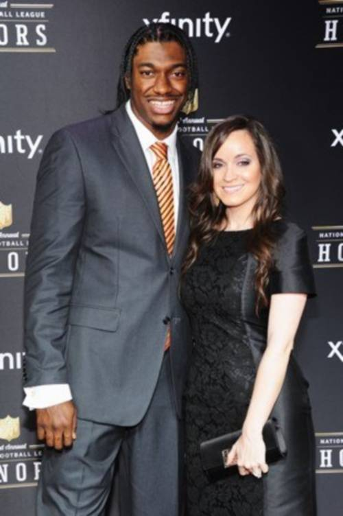 robert-griffin-III-fiancee- Rebecca Liddicoat-getting-married-1