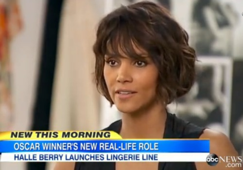 c9b900f1b Halle Berry Launches New French Lingerie Fashion Line. (Video ...