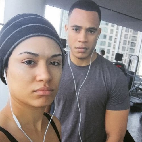Empire co-stars Trai Byers Grace Gealey engaged