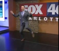 Watch: FOX 46 Meteorologist Nick Kosir Goes Viral On Social Media After Doing The #SlideLikeThisChallenge (Video)
