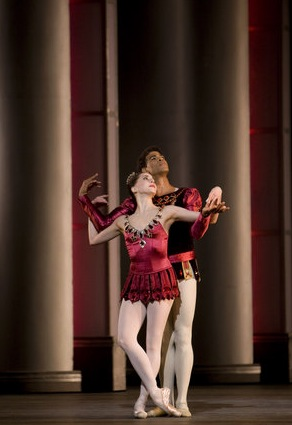 Carlos Acosta and Alexandra Ansanelli in Rubies. Photo: Johan Persson- Royal Ballet ©. Copyright belongs to its respective owners.