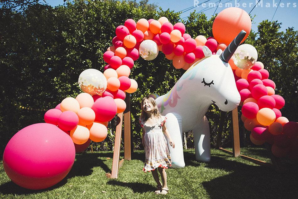 Organic Garland for Birthday by The BalloonGuyLA.com