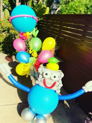Robot Balloon Bouquet