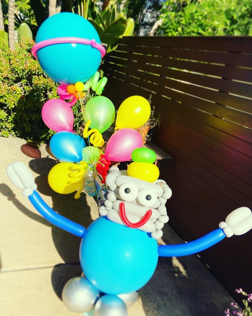 Robot Balloon Bouquet