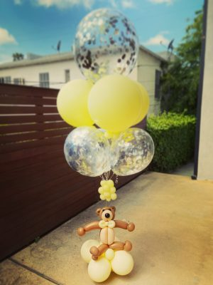 Teddy Bear Balloon Bouquet