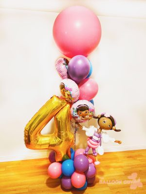 Doc McStuffins Balloon Bouquet