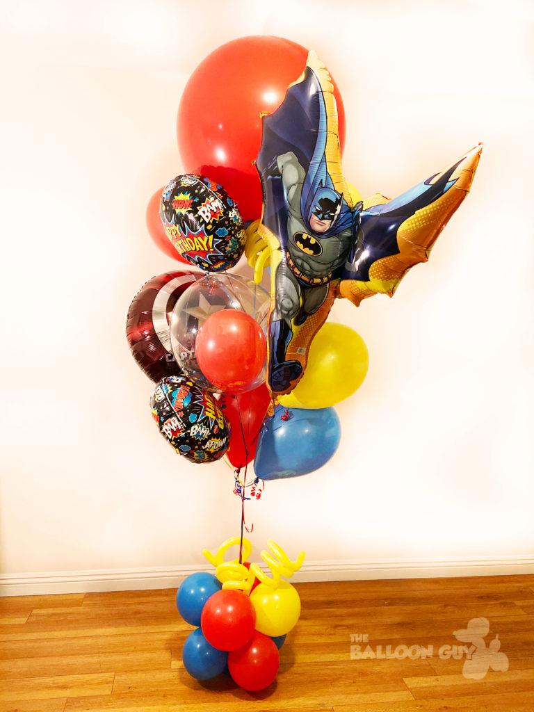 Superhero Balloon Bouquet Deluxe