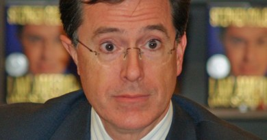 "Stephen Colbert shocked to learn the ""t"" in his last name isn't silent"