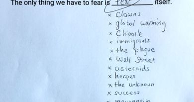 """Fear"" once again tops list of things American's fear most"