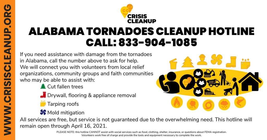 Crisis Cleanup Tornado Relief
