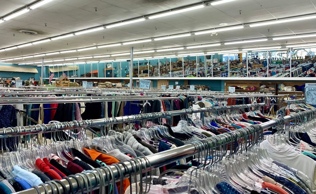 Inside Mission Thrift