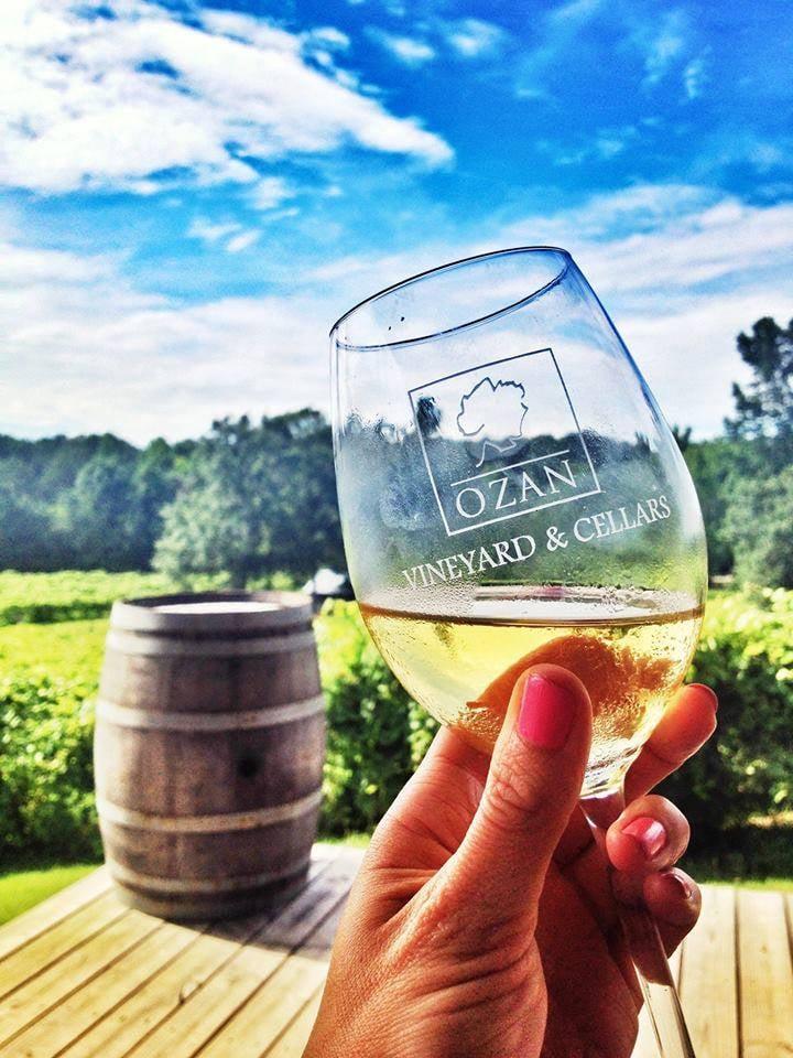 Ozan Vineyard Three Alabama Wine Trails