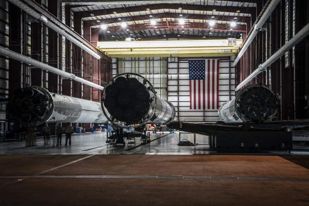 Space Craft Being Built Aerospace Center