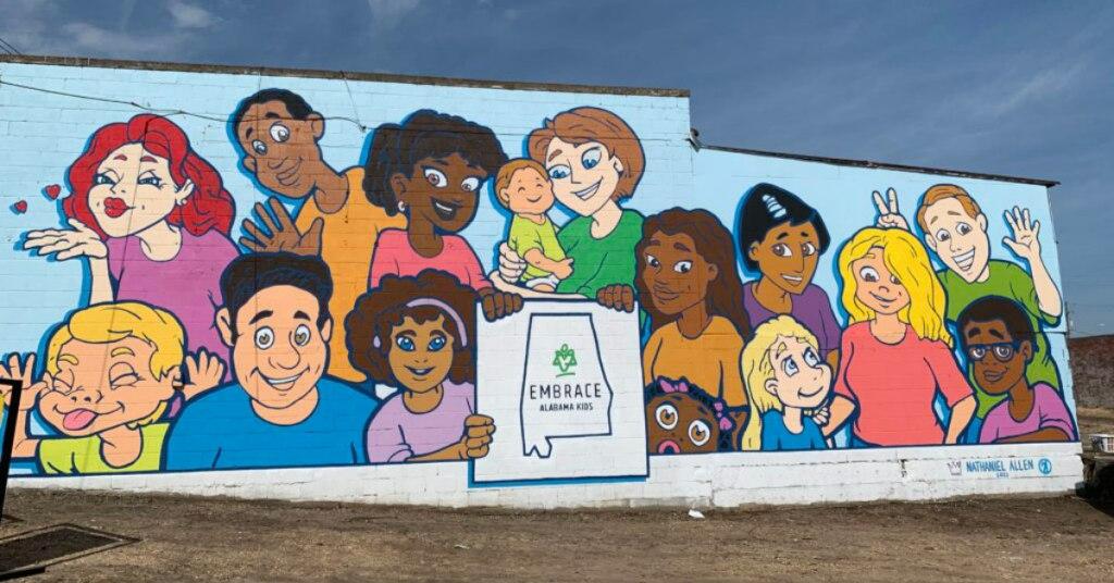 Embrace Al Kids Montgomery Mural By Nathaniel Allen 1 1024X768 1