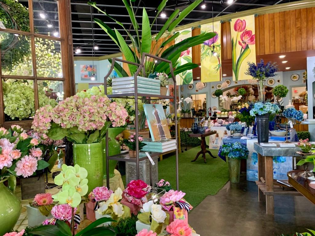 Inside The Flower Store