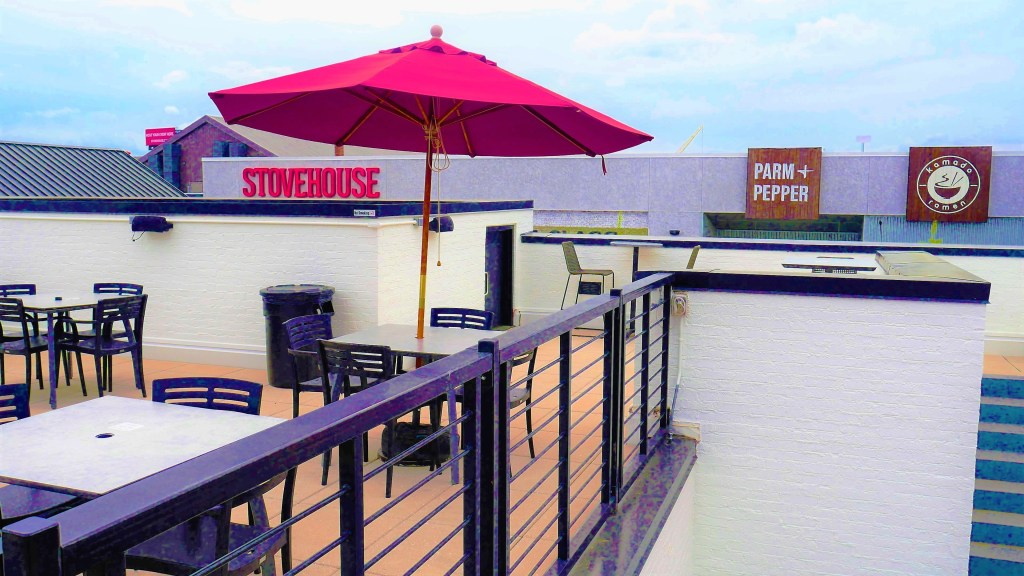 Pourhouse Patio 4 Day Out, Martin Bar &Amp; Bistro, Moe'S Original Bbq Huntsville, Nightout, Pourhouse, Rhythm On Monroe, Stella'S Elixir Lounge