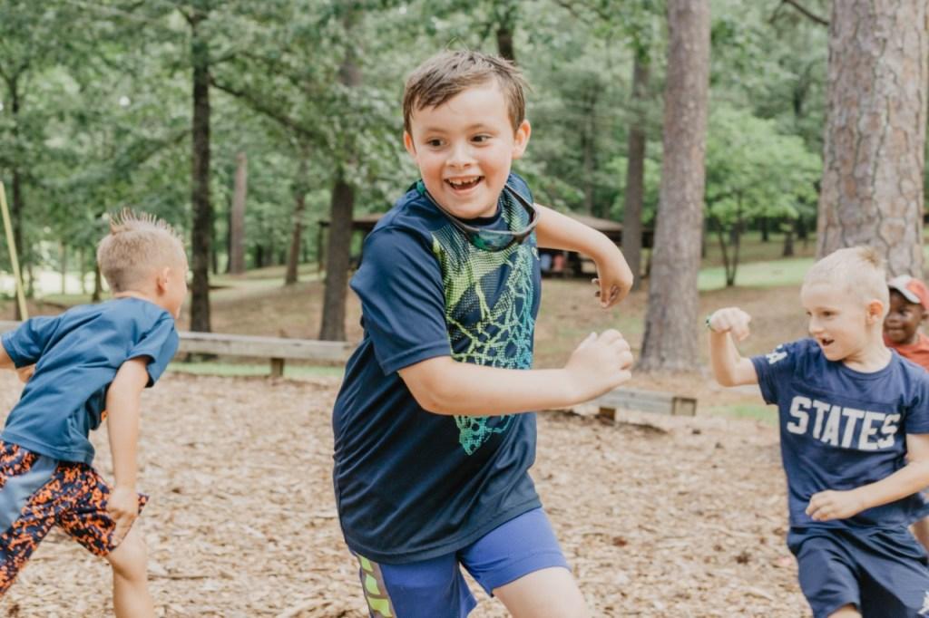 Smiles All Around At Camp Fletcher! Photo Courtesy Of Camp Fletcher.