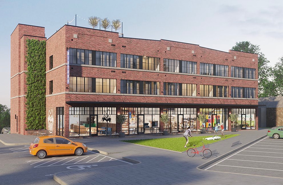 The Lofts At Midtown Rendering