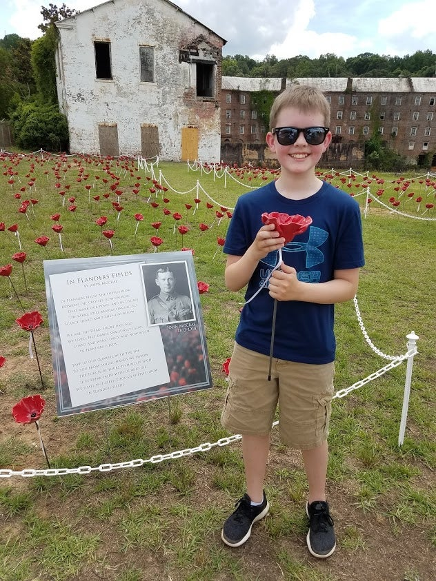 Each Poppy In The Alabama Poppy Project Honors A Lost Loved One. Photo Courtesy Of The Alabama Poppy Project.